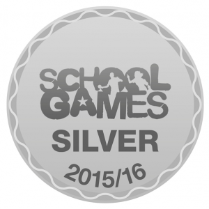 Footer Logo for School Games